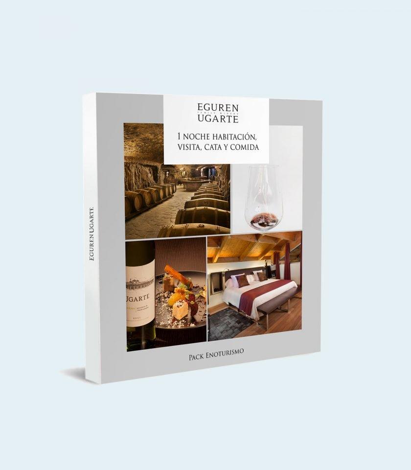 Enoturismo en Rioja Alavesa, en bodega con hotel, restaurante, calados y nichos. También con restaurante propio.