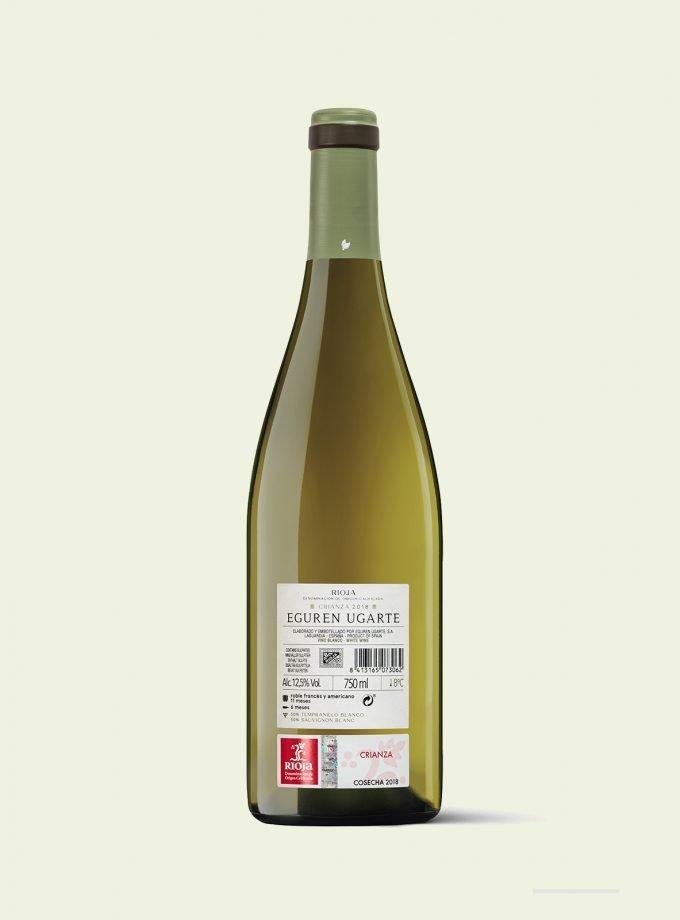Comprar online vino blanco Rioja crianza.