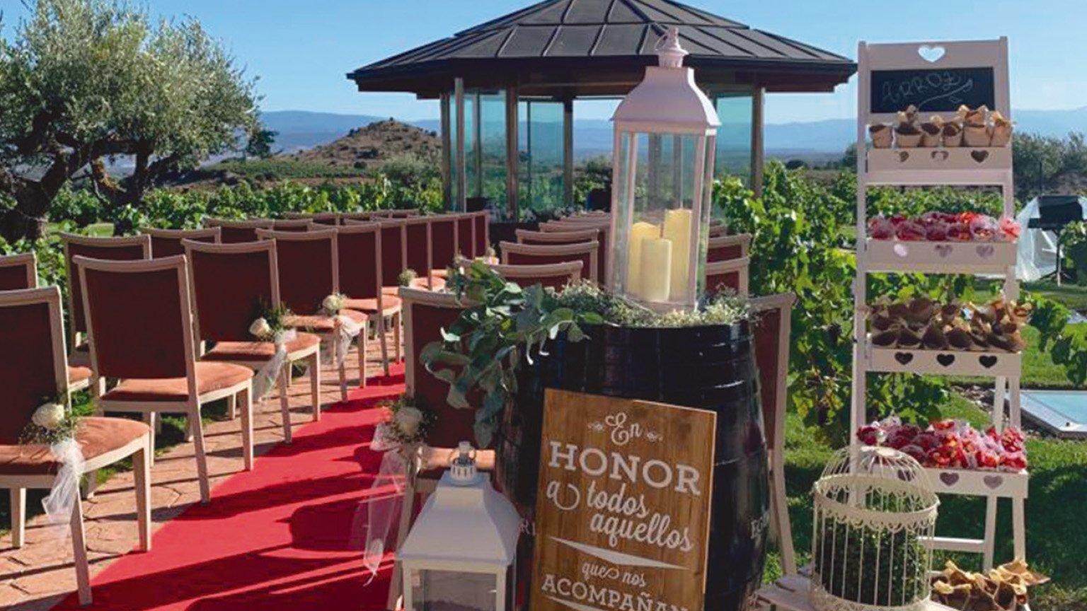 Celebra tu boda en una bodega de Rioja Alavesa. Bodega Eguren Ugarte.