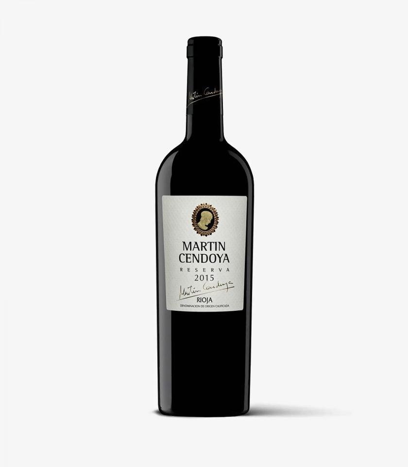 Comprar Martin Cendoya 2015, vino tinto reserva Rioja