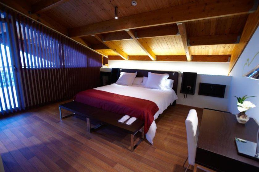 Habitación Doble Premium, bodega hotel en Laguardia