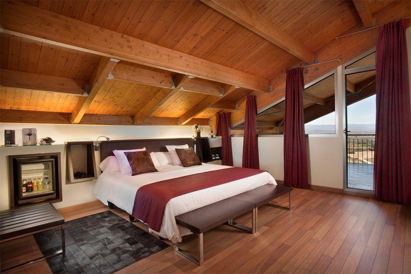 Habitación Doble Premium. Hotel Laguardia Eguren Ugarte