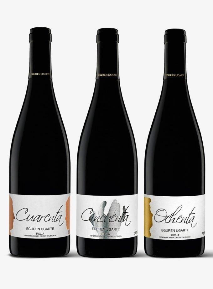 Estuche vitorino vino tinto Rioja