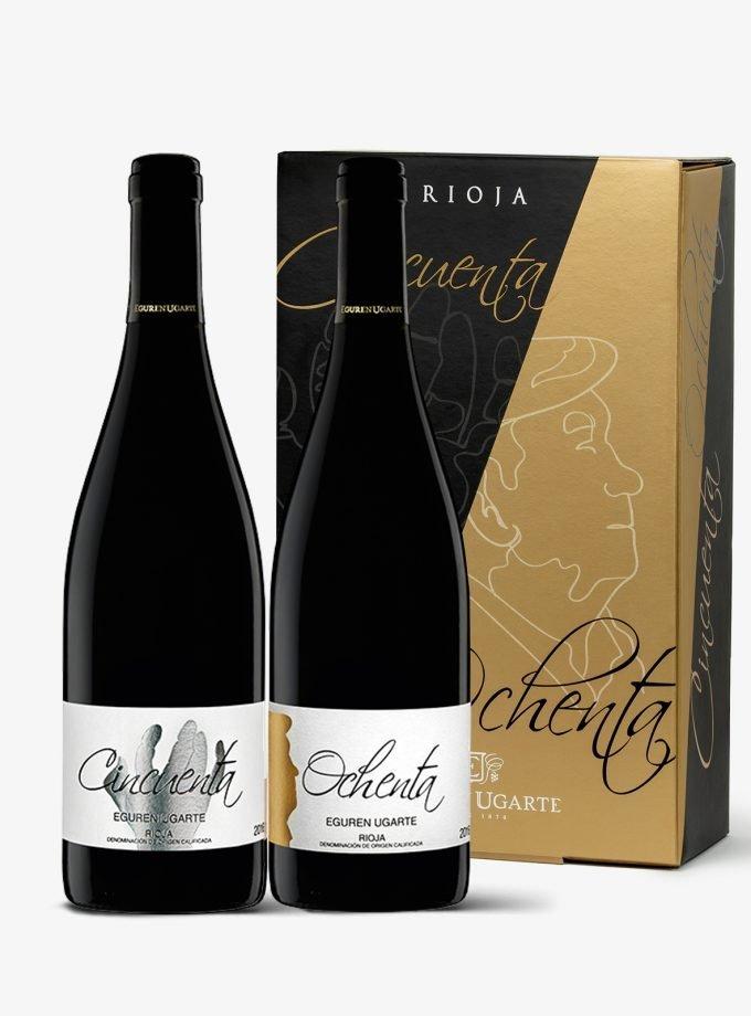 Comprar estuche de vino online Rioja.